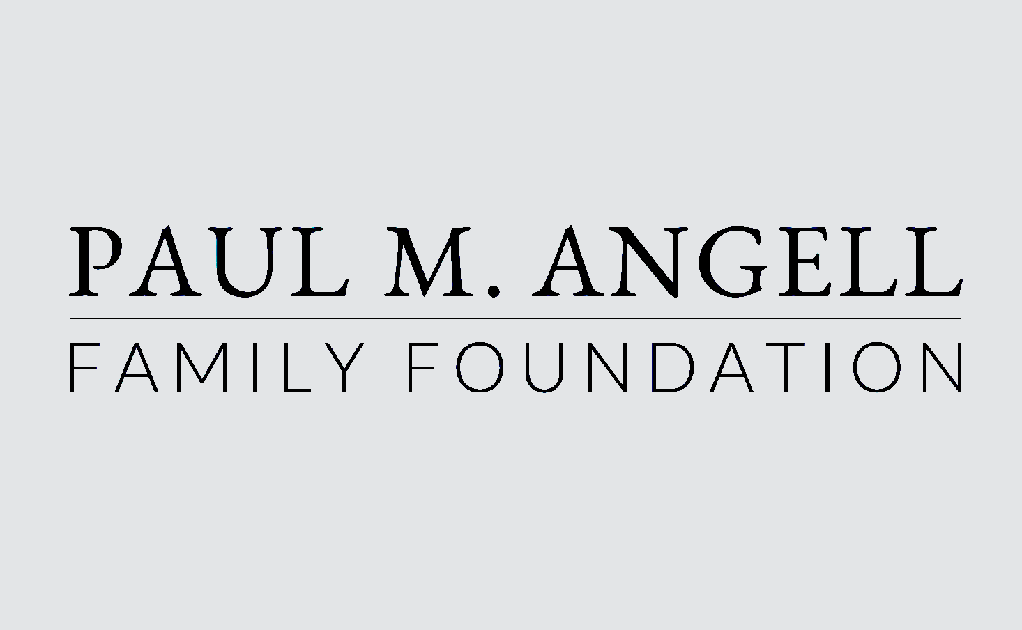 Paul M. Angell Family Foundation logo